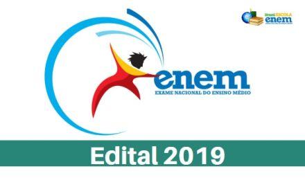 Edital do Enem 2019 está disponível para consulta