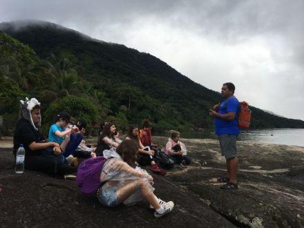 Identidade e território: Estudantes realizam atividade de estudo do meio em Paraty