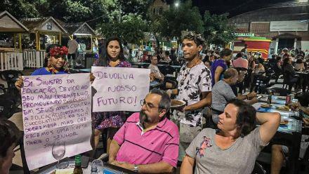 'A gente nunca quis hostilizar nem humilhar', diz ONG que fez ato contra ministro da Educação no Pará