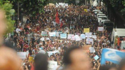 Por que abandonei as manifestações estudantis