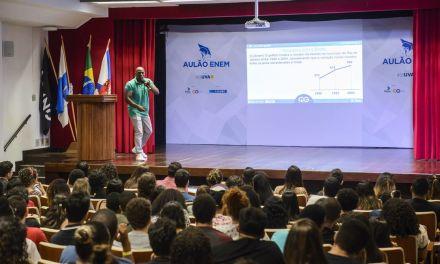 Aulão na Tijuca abre contagem regressiva para o Enem