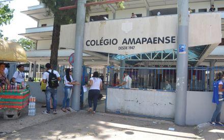 32,8% dos candidatos do Enem 2017 no Amapá faltam no 1º dia de prova, diz Inep