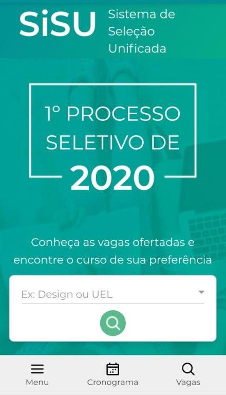 Sisu 2020: MEC confirma que inscrição começa nesta terça-feira (21) e divulga prorrogação.
