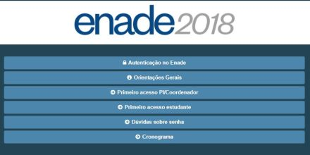 Local de prova do Enade 2018 pode ser conferido no cartão de inscrição