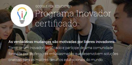 Seja um Educador Inovador Google!