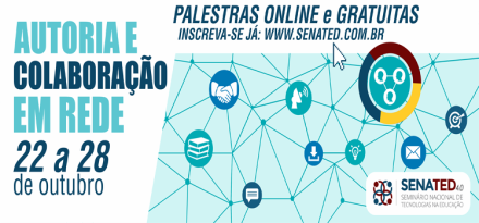 Participe do SENATED 2017, online e gratuito