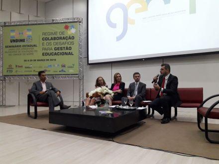 Regime de colaboração: presidente da Undime debate o assunto com gestores no Rio Grande do Norte