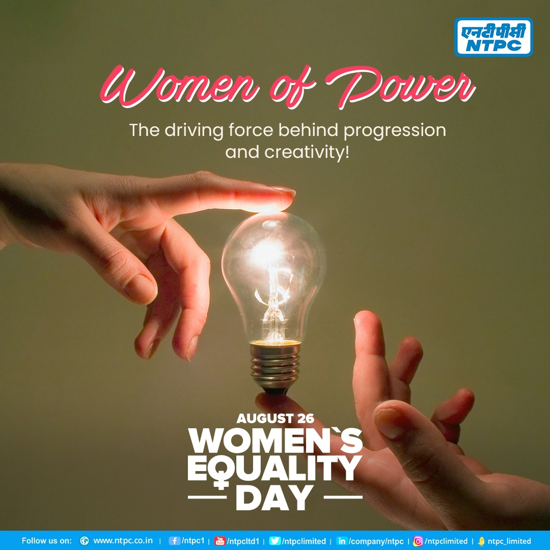 NTPC announces recruitment of an all-Female Engineers batch on Women Equality Day