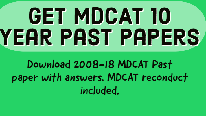 mdcat past papers