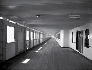 Titanic Promenade Deck