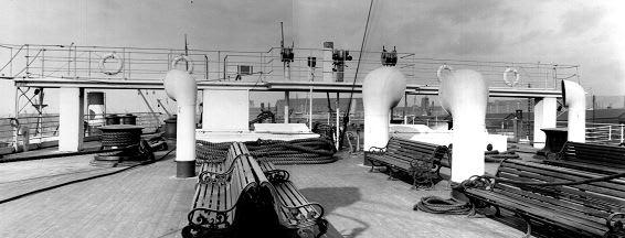 Titanic Bridge Deck