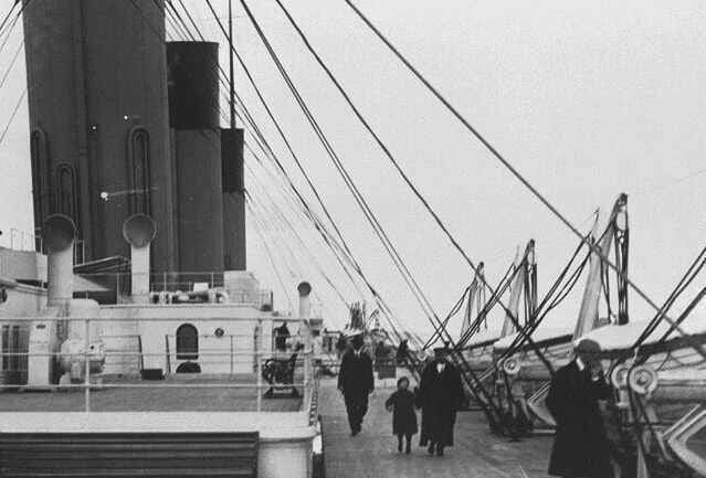 Titanic Boat Deck