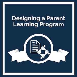 Designing a Parent Learning Program logo