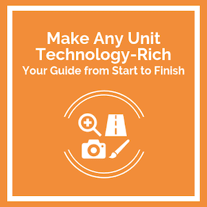 Make any unit Technology-Rich course logo