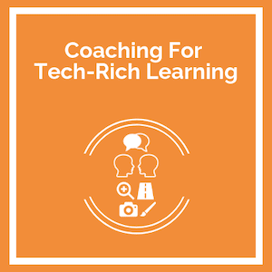 Coaching for tech-rich learning Course logo
