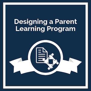 Designing a Parent Learning Program logo