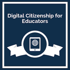 digital citizenship for educators logo