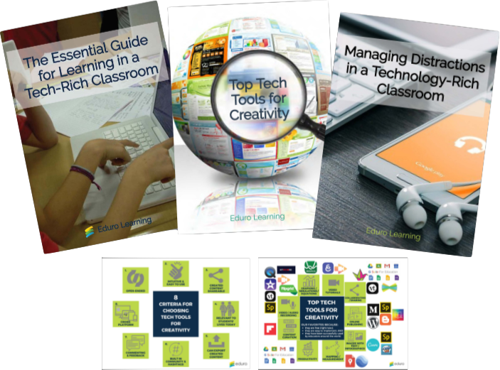 Technology-Rich Learning (3 PDF Bundle + 2 Infographics)