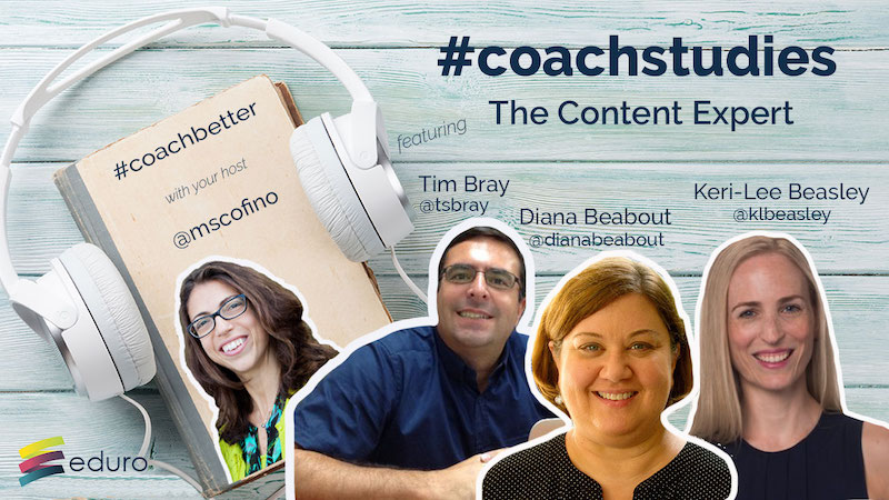 Episode 49: #coachstudies 1: The Content Expert