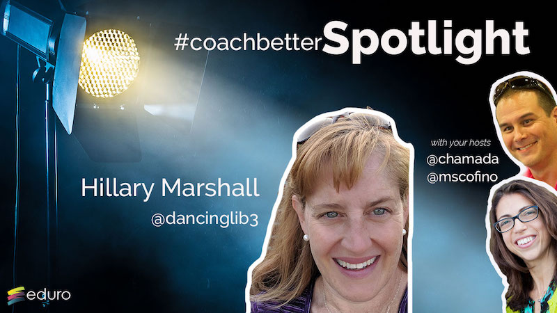 Episode 52 #coachbetter Librarian Spotlight with Hillary Marshall
