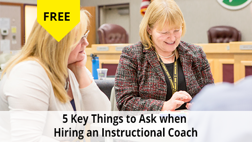 5 key things to ask when hiring an Instructional Coach