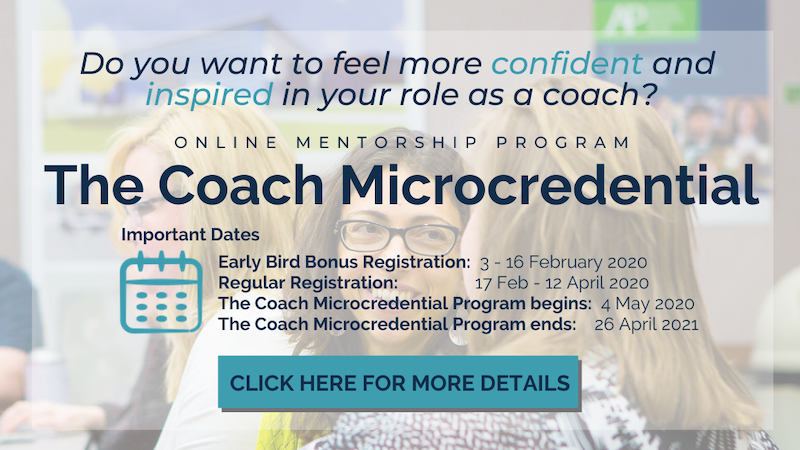The Coach Microcredential Program