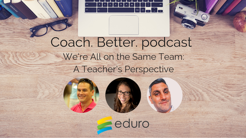 Episode 12: We're All on the Same Team: A Teacher's Perspective with Jabiz Raisdana