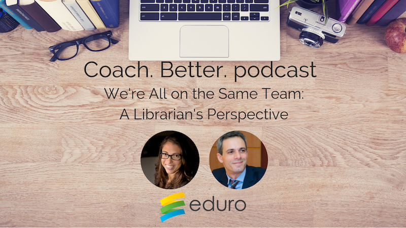 Episode 13: We're All on the Same Team: A Librarian's Perspective with Danny Glasner