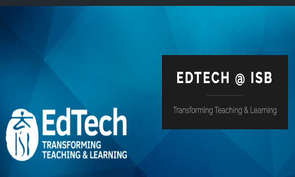 edtech at ISB