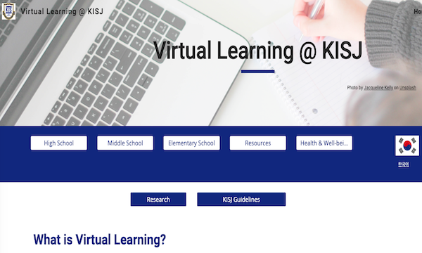 Virtual Learning at KISJ
