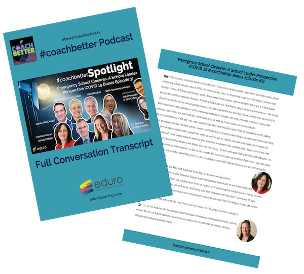 FREE Download: Full Conversation Transcript - Emergency School Closures School Leaders Perspectives