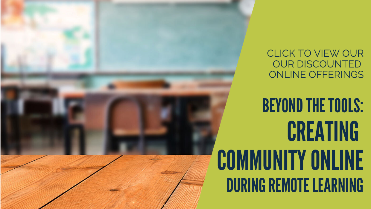 creating community online during remote learning