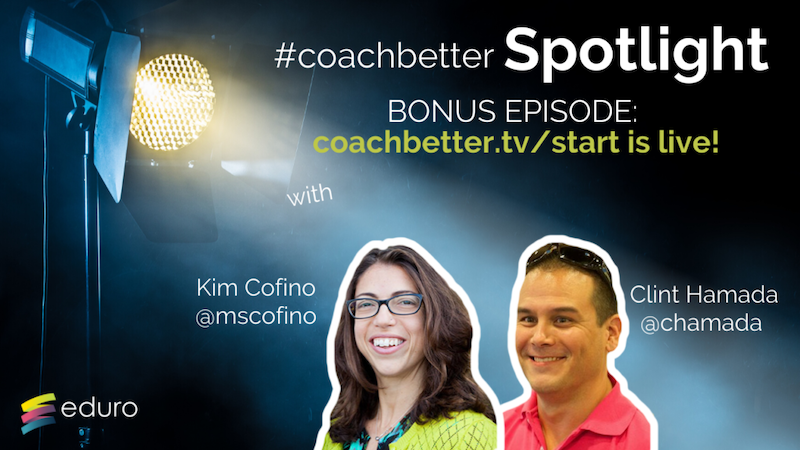 Bonus Episode 7: #coachbetter Let's get started!