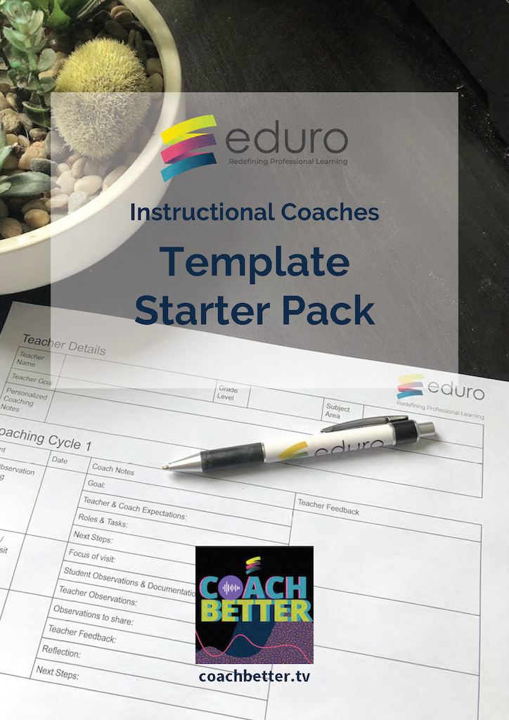 Instructional Coaches Template Starter Pack