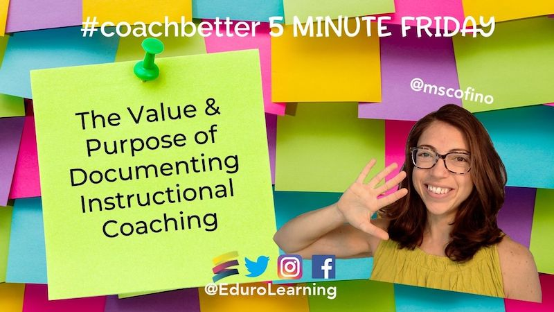 The Value & Purpose of Documenting Coaching Conversations
