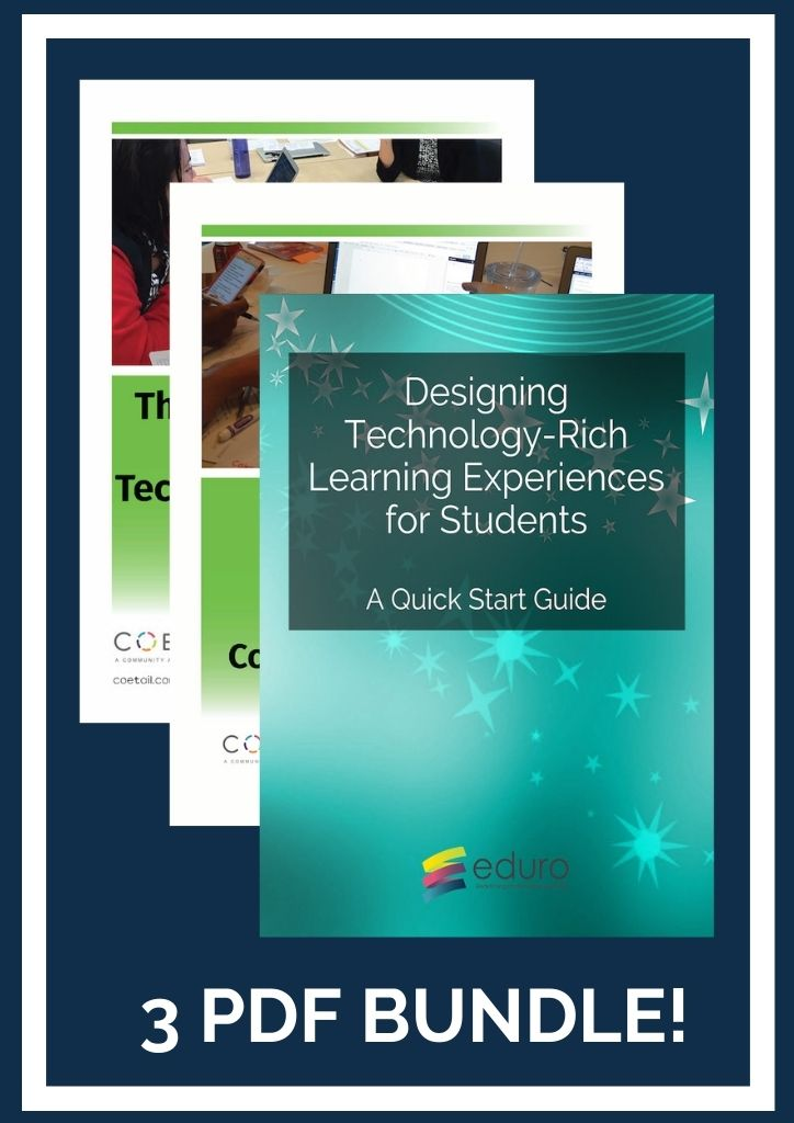 Designing Technology Rich Learning (3 PDF Bundle)