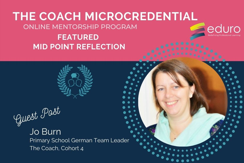 Guest Post: Mid Point Reflection: Jo Burn