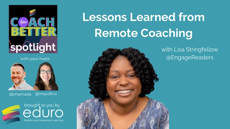 #coachbetter Episode 114 with Lisa Stringfellow: Lessons Learned from Remote Coaching