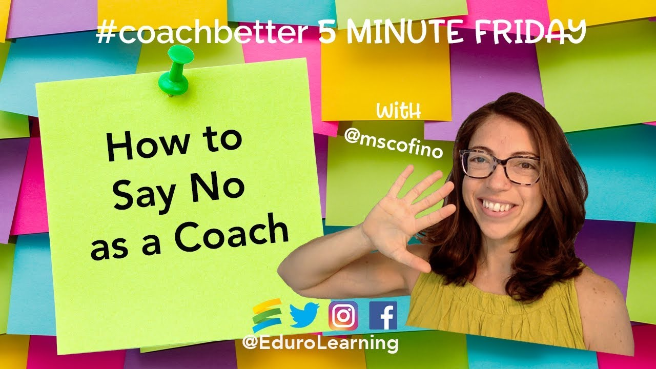 "How to Say ""No"" as an Instructional Coach"