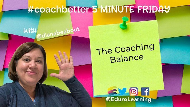 The Coaching Balance