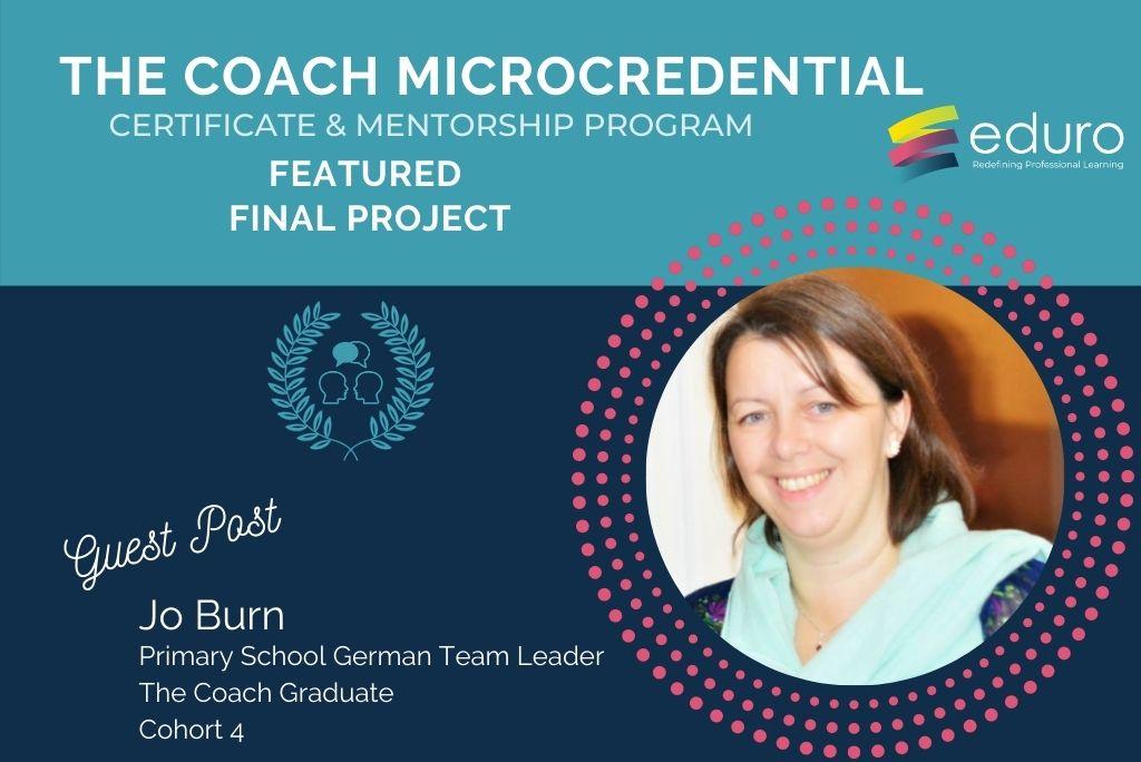 Guest Post: The Coach Final Project: Jo Burns