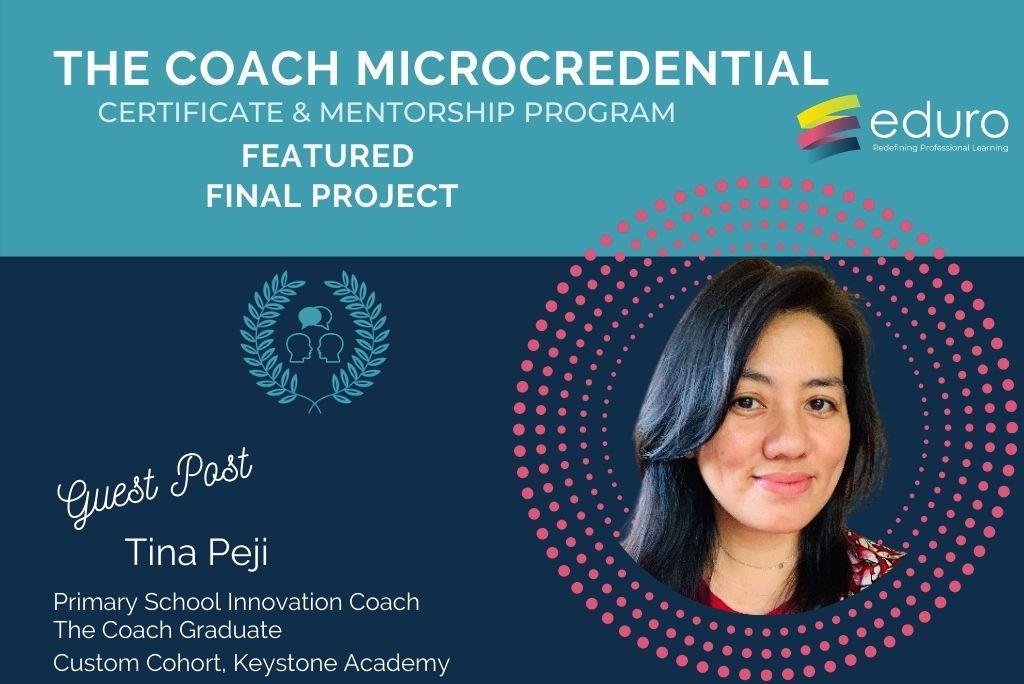 Guest Post: The Coach (Custom Cohort) Final Project: Tina Peji