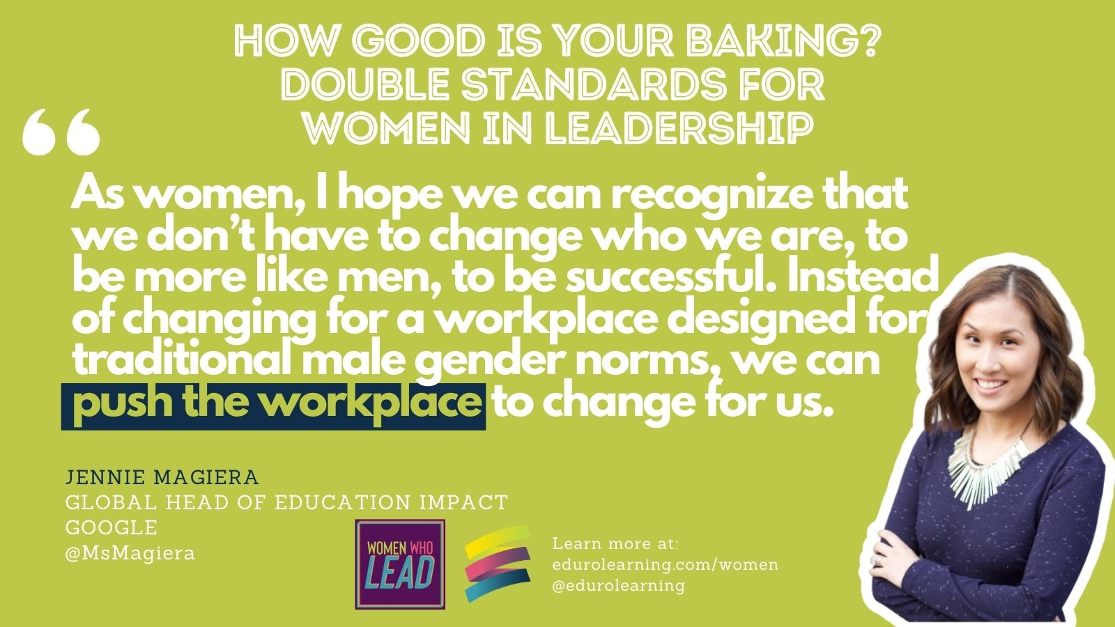 How Good Are You At Baking? Double Standards for Women in Leadership
