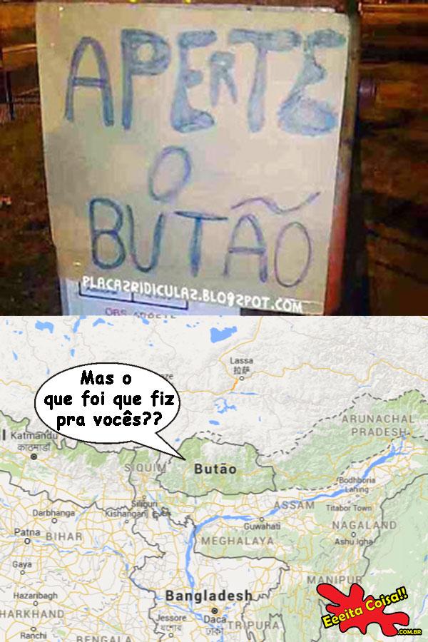 Aperte o Butão
