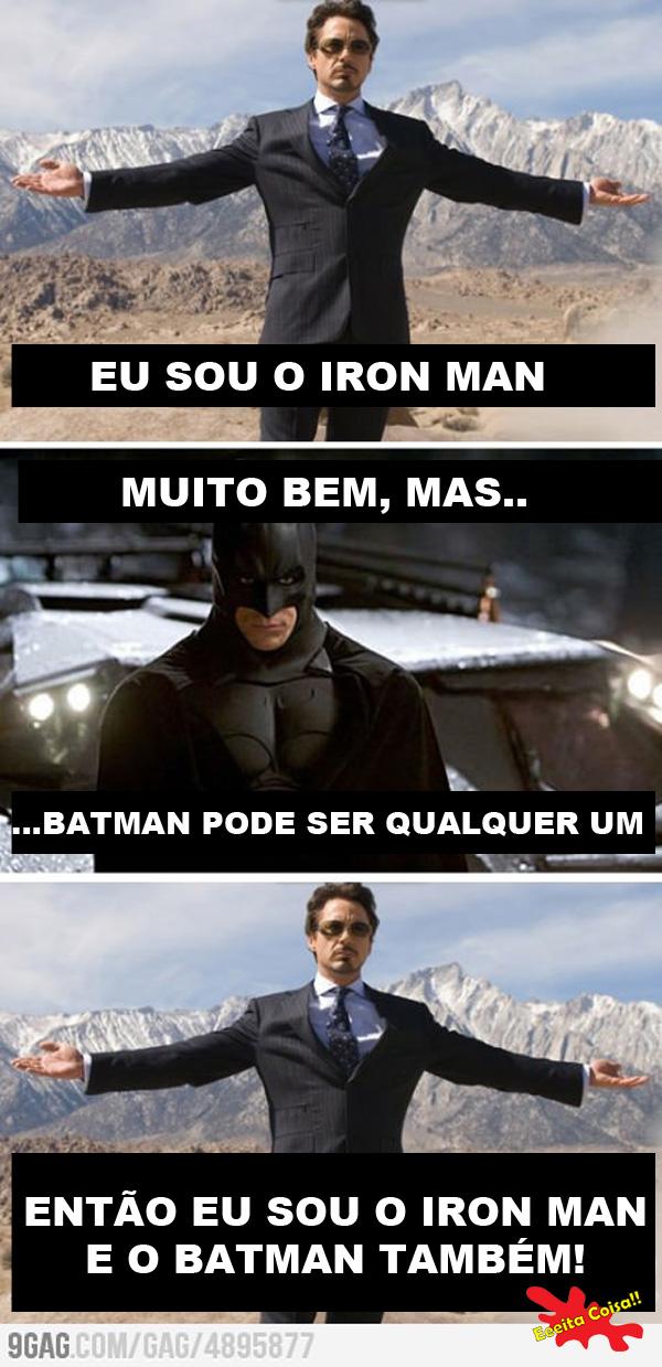 Tony Stark se achando o cara