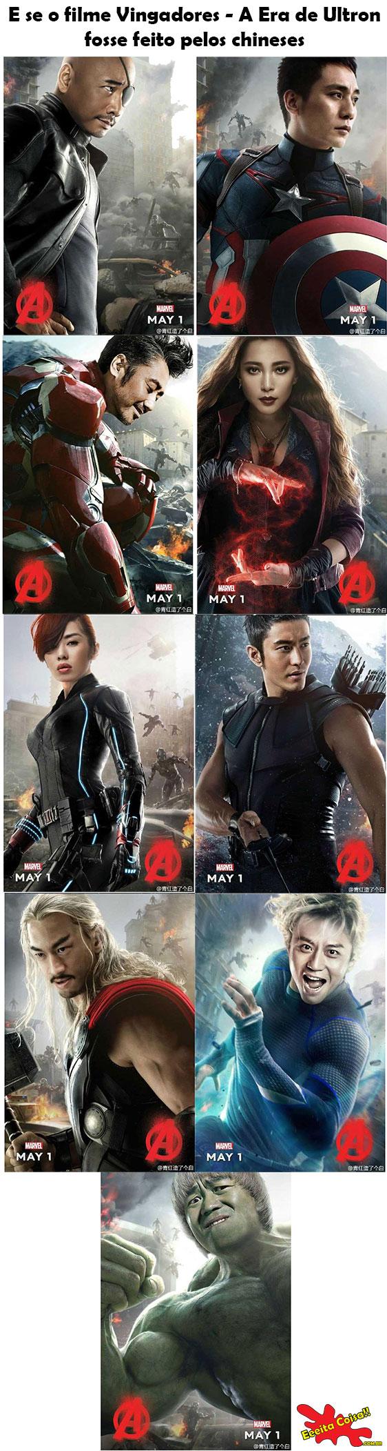 Vingadores - Era de Ultron - Versão CHINA!