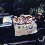 Thumbnail of Stitch & Gossip Parade Float in the Historical Day Parade