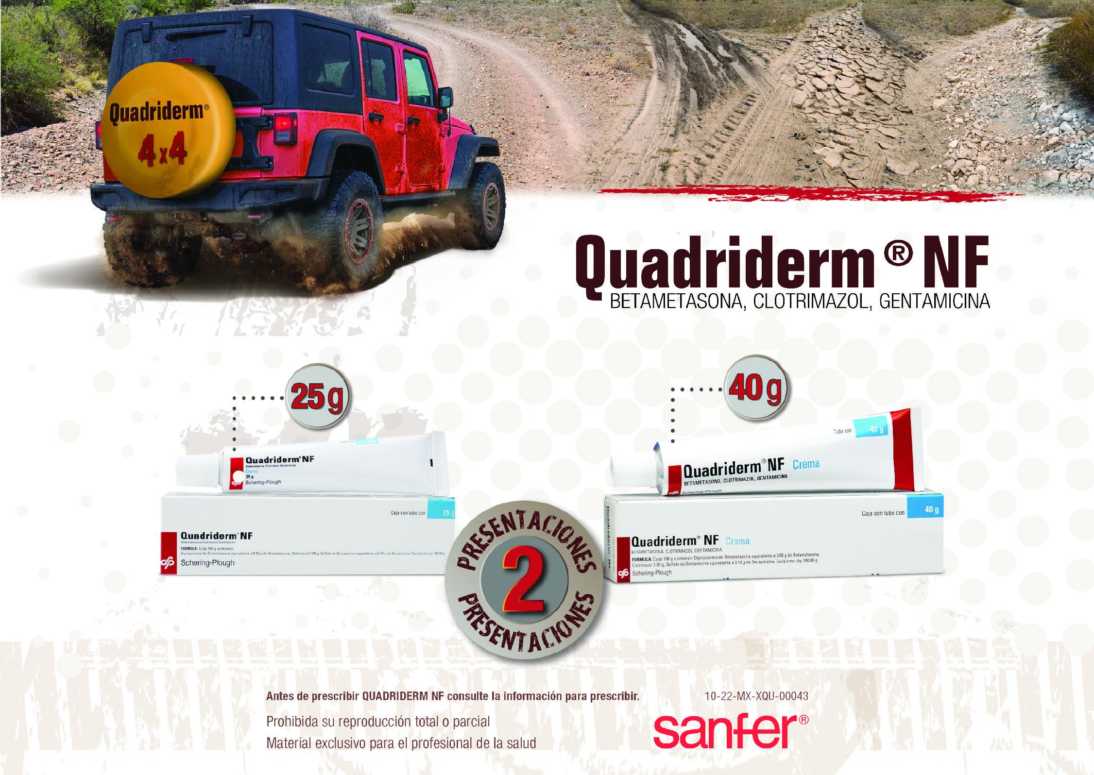Quadriderm SANFER