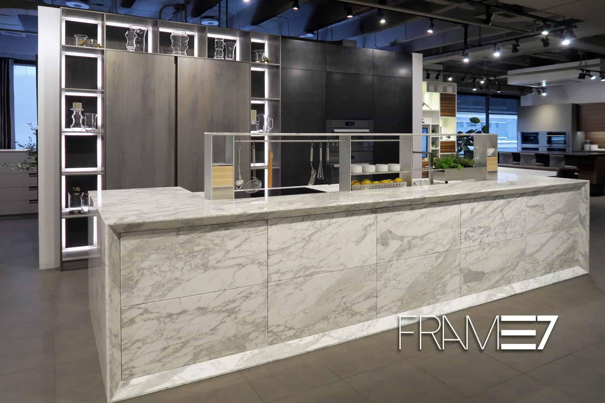 eggersmann launches FRAME7 innovation & rocks the kitchen world
