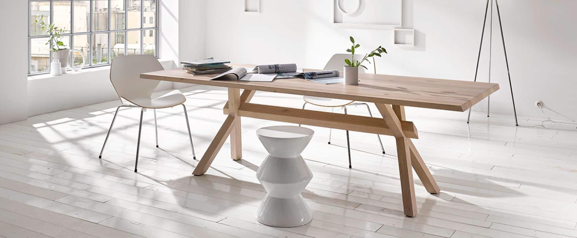 KFF solid wood table